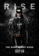 Película - El Caballero Oscuro La leyenda renace - Cartel - Anne Hathaway