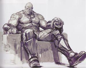Avengers Infinity War Thanos concept art 1
