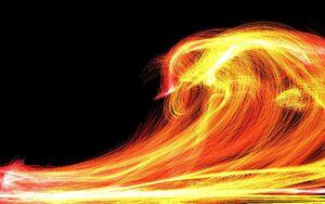 Fiery Waves