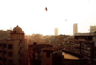 Evening in Mumbai Suburbs