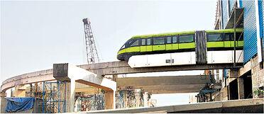 Monorail testing
