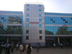 New Andheri East Railway Station