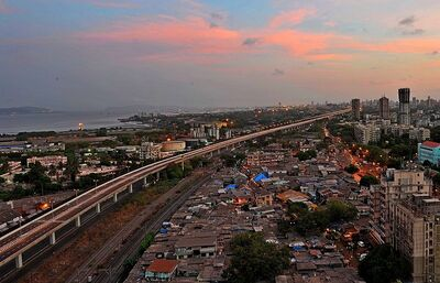 The Eastern Freeway in Mumbai 1