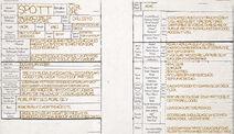 Spott Character Sheet