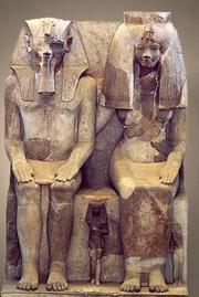 Tiye and Amenhotep III