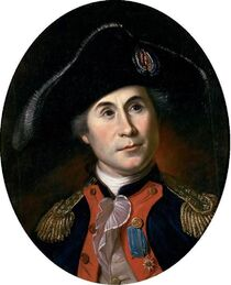 John Paul Jones by Charles Wilson Peale, c1781