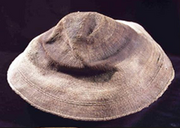 Spruce root hat