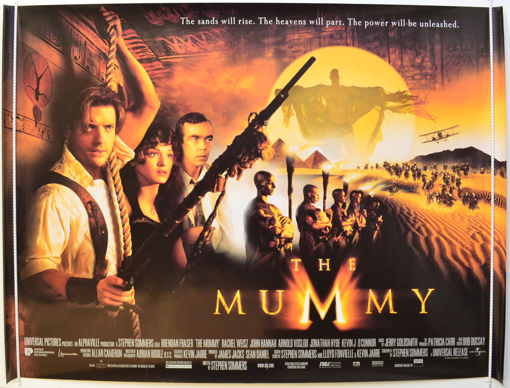 Movie Posters 1999: Mummy-cinema-quad-movie-poster-(6).jpg