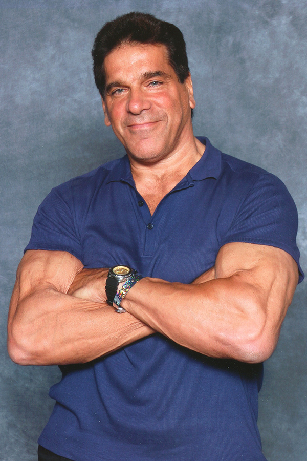 The 69-year old son of father (?) and mother(?) Lou Ferrigno in 2020 photo. Lou Ferrigno earned a  million dollar salary - leaving the net worth at 12 million in 2020