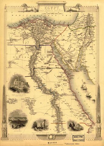 File:Map of Egypt 1851.jpg