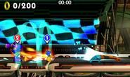 Sonic vs. Robô Gigante