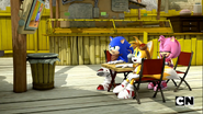 Meh Burger and Team Sonic