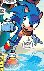 Sonic the Hedgehog (Sonic Boom) Archie Comics