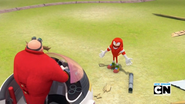 Eggman and Knuckles