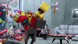 Eggman getting hugged