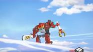 Obliterator Bot vs. Shield