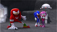 Knuckles victory