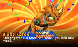 Blunt Force Profile