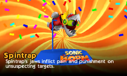 Spintrap Profile