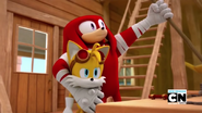 Tails and Knuckles inventor buddies