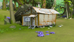 Metal Sonic's hideout