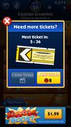 Tickets aviso