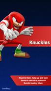 Knuckles descrição