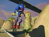 Metal Sonic/Batalha