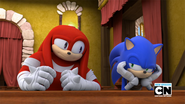 Sonic is not amused
