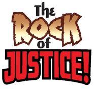Rock of Justice logo