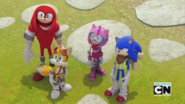 Sonic & Co. Being Role Models
