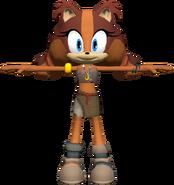 Sonic Dash 2 Sticks Model