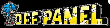 Off panel logo