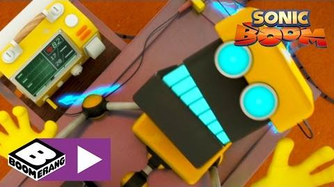 Sonic Boom Video Game Boomerang UK