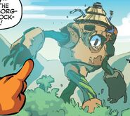 Rock-cyborg profile
