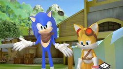 Tails is only one guy