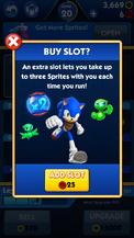 Sprites, x2, Sonic