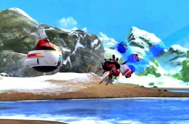 SONIC BOOM HOMING ATTACK