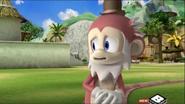 Old Monkey sad