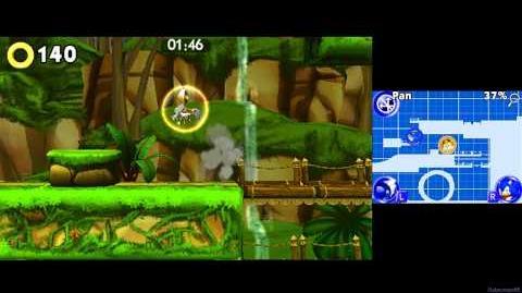 Sonic Boom Shattered Crystal 3DS - Part 1 - Seaside Coast ~ Sticks