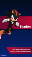 Shadow carregamento