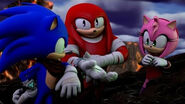 SBFAI Sonic Knuckles and Amy