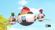 Egg Mobile triple cart