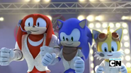 SB Knuckles Sonic and Tails