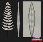 Boom plants model