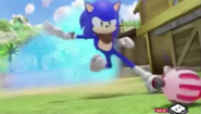 Sonic and bomb