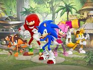 Canal j equipe sonic