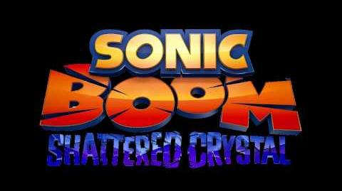 Sonic Boom Shattered Crystal Music - Seaside Coast Map