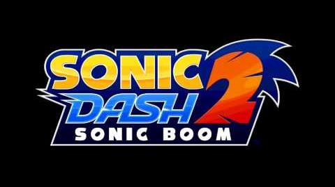 Sonic Dash 2 Sonic Boom Character Select Soundtrack HQ