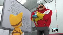 Eggman and Tails together